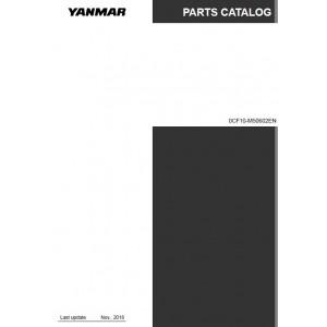Yanmar 3GM30 Illustrated Part Catalog PDF #0CF10-M50602EN
